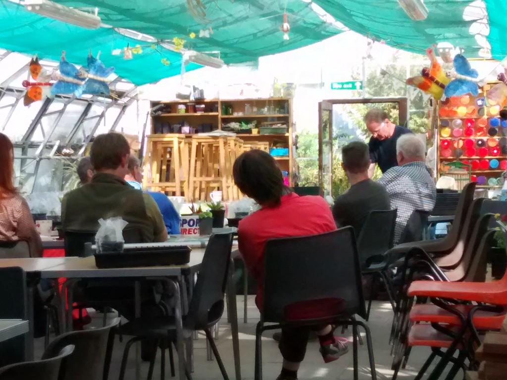 Graeme giving propagation workshop